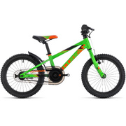 "CUBE KID 160 FLASHGREEN/ORANGE 2018 16"" - Black"