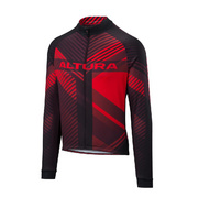 ALTURA TEAM LONG SLEEVE JERSEY - Red