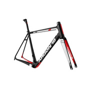 ARGON 18 GALLIUM PRO RIM FRAMESET 2019 2019: BLACK/GREY MATTE XXS - Black/white Gloss