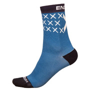 Endura Scotland Flag Sock (Single) - Blue