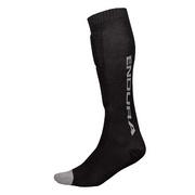 Endura SingleTrack Shin Guard Sock - White
