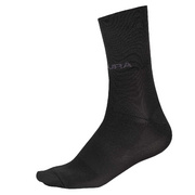 Endura Endura Pro SL Sock II: HiVizBlue - S-M - Red