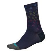 Endura PT Scatter Sock LTD - Blue