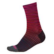 Endura Wms PT Wave Sock LTD - Red