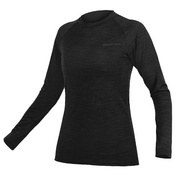 Endura Women's BaaBaa Blend L/S Baselayer - Black