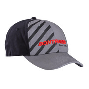 Bontrager Stripe Cap - Black;grey