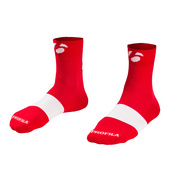 "Bontrager Race 2.5"" Cycling Sock - Red"