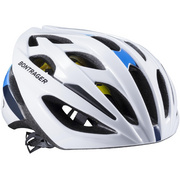 Bontrager Starvos MIPS Road Bike Helmet - White;blue
