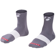 "Bontrager Race 2.5"" Cycling Sock - Grey"