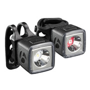 Bontrager Ion 100 R/Flare R City Bike Light Set - Black