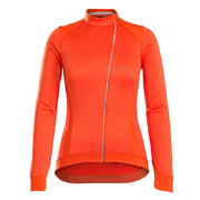 Bontrager Vella Thermal Long Sleeve Women's Cycling Jersey - Orange