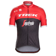 Sportful Trek-Segafredo Replica Men's Cycling Jersey - Black