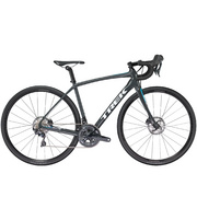Trek Domane SL 6 Disc Women's - Charcoal;blue