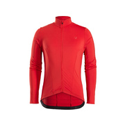 Bontrager Velocis Long Sleeve Thermal Cycling Jersey - Red