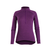 Bontrager Vella Women's Long Sleeve Thermal Cycling Jersey - Purple