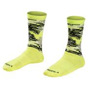 Bontrager Race LTD Crew Cycling Sock - Yellow