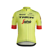 Santini Trek-Segafredo Men's Team Replica Cycling Jersey - Yellow