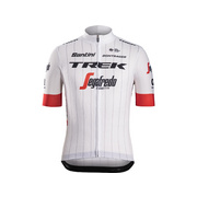 Santini Trek-Segafredo Men's Team Replica Cycling Jersey - White