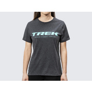 Trek Logo Women's Tee - Black