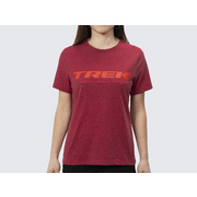 Trek Logo Women's Tee - Red