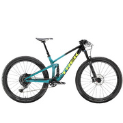 Trek Top Fuel 9.8 - Black;teal
