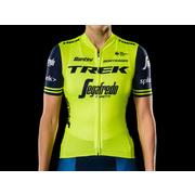 Santini Trek-Segafredo Women's Team Replica Cycling Jersey - Yellow