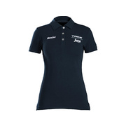 Santini Trek-Segafredo Women's Team Polo - Blue