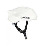VeloToze Helmet Cover Yellow  One Size - White