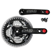 "Trek Dialed 24"" Kids' Crankset - Black"