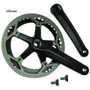 Trek 2010 District Crank Arm Set - Black