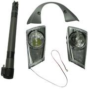 Bontrager Satellite Forklight Light Sets - Black