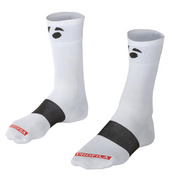"Bontrager Race 5"" Cycling Sock - White"