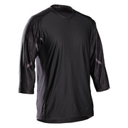 Bontrager Rhythm Tech Tee 3/4 - Black