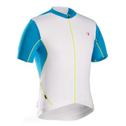 Bontrager RXL Summer Cycling Jersey - White;teal