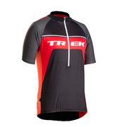 Bontrager Solstice Short Sleeve Jersey - Black;red