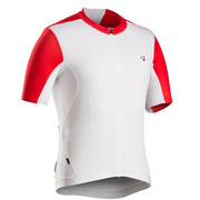 Bontrager RXL Summer Cycling Jersey - White;red