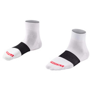 "Bontrager Race 1"" Cycling Sock - White"