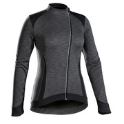 Bontrager Vella Thermal Long Sleeve Women's Cycling Jersey - Black