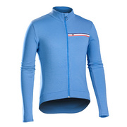 Bontrager Classique Thermal Long Sleeve Jersey - Blue