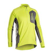 Bontrager Evoke Thermal Long Sleeve Cycling Jersey - Yellow