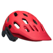 BELL SUPER 3 MTB HELMET - Red