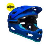Bell Super 3R Mips Mtb Helmet - Matte Blues