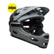 Bell Super 3R Mips Mtb Helmet - Downdraft Matte Grey