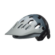 Bell Super 3 Mtb Helmet - Downdraft Matte Grey