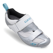 Giro Flynt Womens Triathlon Cycling Shoes - Silver
