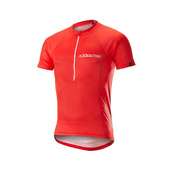 ALPINESTARS ELITE SHORT SLEEVE JERSEY - Red
