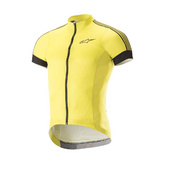 ALPINESTARS XC SHORT SLEEVE JERSEY - Yellow