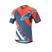 ALPINESTARS RACER SHORT SLEEVE JERSEY - Black