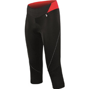 Santini Mearesy Women'S Pro Grace 3/4 Shorts - Black