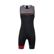 SANTINI SLEEK 775 SLEEVELESS TRISUIT GTR PAD - Red